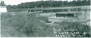 Boat Launch 1927